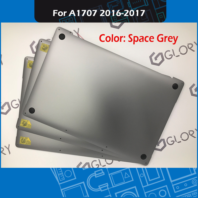 New Space Grey Lower Cover Bottom Cover For Macbook Pro Retina 15 A1707 Bottom Case 2016 2017 Year EMC 3072 3162New Space Grey Lower Cover Bottom Cover For Macbook Pro Retina 15 A1707 Bottom Case 2016 2017 Year EMC 3072 3162