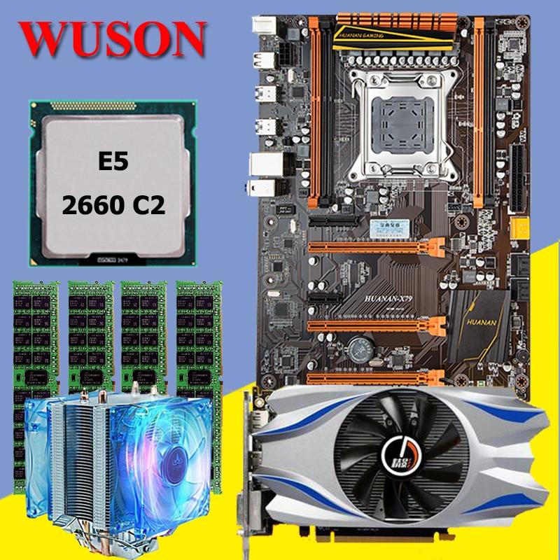 New arrival!!!HUANAN deluxe X79 motherboard CPU RAM video card CPU Xeon E5 2660 C2 RAM 16G(4*4G) DDR3 RECC GTX650Ti Video card recommend huanan deluxe x79 motherboard lga2011 intel xeon e5 2650 c2 ram 16g 4 4g ddr3 1333 recc support 64g 4 16g memory
