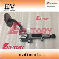 Genuine type For Isuzu engine forklift excavator engine overhaul 4JG1 4JG2 oil pump