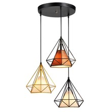 BOKT Vintage Minimalist Pendant Light Lamp Nordic Ceiling Clothing Decoration For Living Room Bedroom Dining