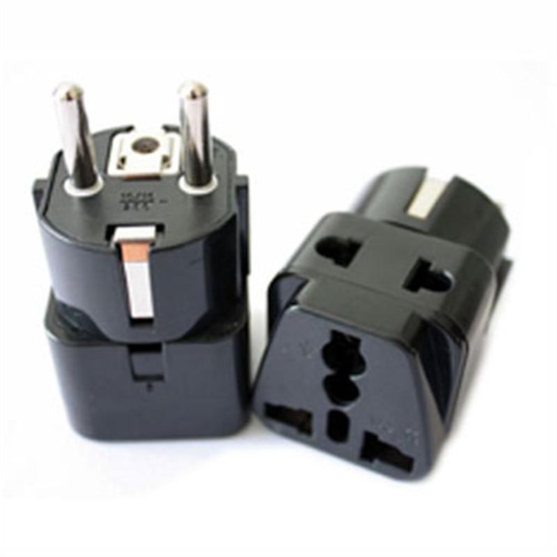 Motorhome Power Socket Outlet Split Adapter DIN German to British Plug