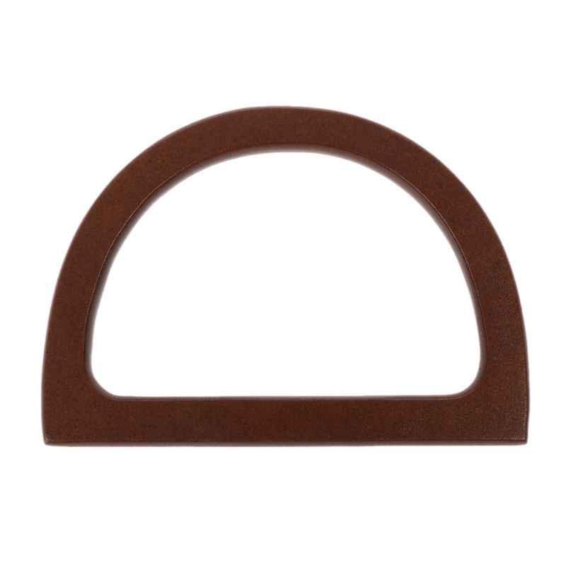 Деревянная ручка Замена DIY Сумочка рамка для сумки кошелька аксессуары
