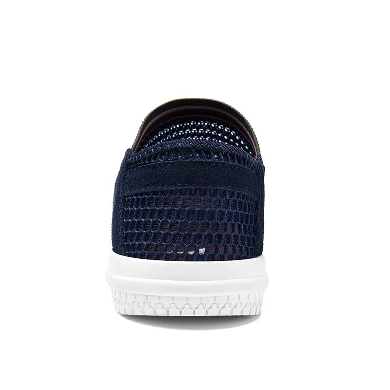 SUROM Summer Men Casual Shoes Slip-On Súper Ligero Transpirable - Zapatos de hombre - foto 4