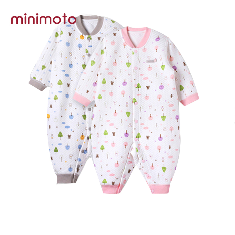 Boys Girls Unisex Rompers Weant Infant Newborn Baby Set Autumn Winter Letter Print Long Sleeve Rompers Jumpsuits for Kids Toddler Blouse Tops Shirts Outfits Gifts