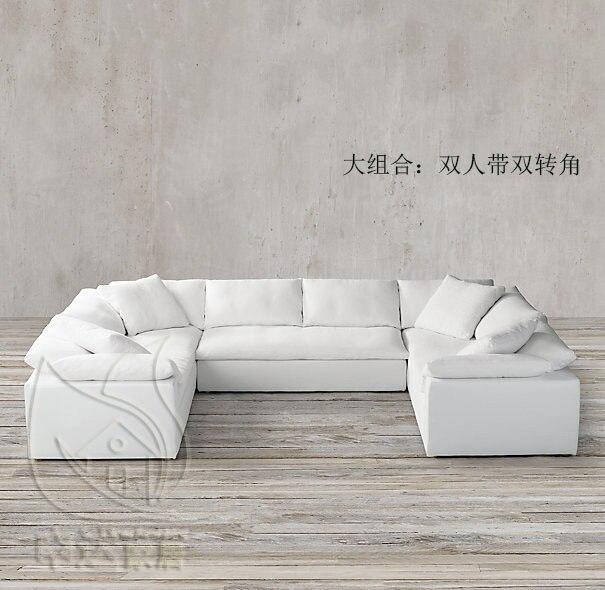 american country neoclassical retro fabric sofa norasia linen size