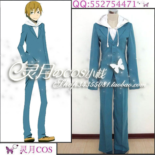 Durarara  Kida Masaomi anime Cosplay Costume Custom Any Size