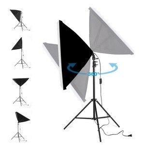 Image 5 - Chụp Ảnh Softbox Chiếu Sáng Bộ Dụng Cụ 50X70 Cm Chuyên Nghiệp Liên Tục Hệ Thống Đèn Cho Ảnh Thiết Bị Phòng Thu