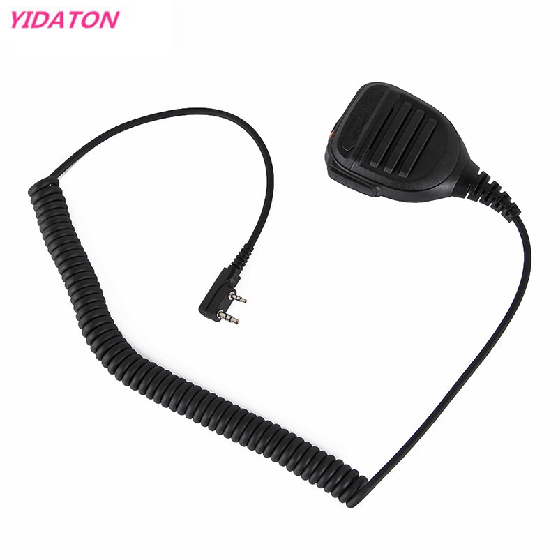 MD Mic-25 Walkie Talkie Parts Frosted Shell PTT Handheld Speaker MIC For MIDLAND Radio G6/G7/G8/G9 GXT550 GXT650 LXT80/LXT110