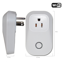 US Type WiFi Smart Power Socket Wireless Remote control Timer2.4G 10A Wifi Power plug outlet compatible with Amazon Echo