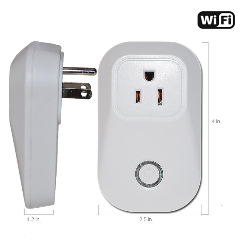 Zemismart Smart wifi pistik Alexa Google'i avaleht Siri taimerikontroll Smart Life APP kodu elektriline mini pistikupesa US tüüp