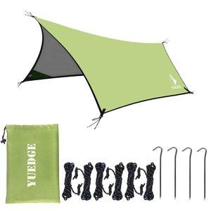 YUEDGE Silver Coating Anti UV Ultralight Sun Shelter Pergola Awning Canopy Camping Sunshelter Rain Tarp Tent Tarp(China)