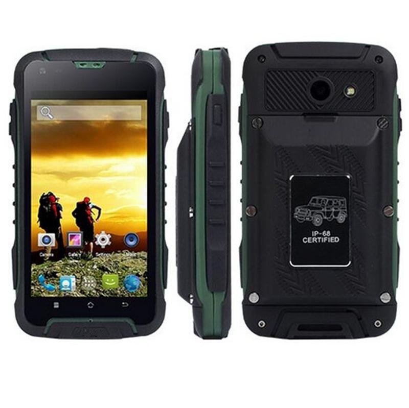 """bilder für Original F605 IP68 telefon H-handy Wasserdicht MTK6572 dual core 512 MB RAM 4 GB ROM 4,5 """"IPS bildschirm Android 4.4"""