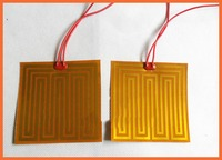 160x120mm 24V 30W 3D Printing Hot Bed Heating Flexible Silicone Heater Industrial PI Film Heater Bed
