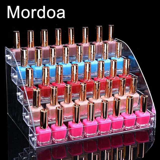 Aliexpresscom Buy Mordoa Makeup Cosmetic 5 Tiers Clear Acrylic