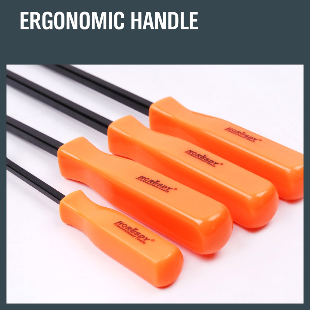 Tools : SEDY 4Pcs Pry Bar Set Tool Heavy Duty Crowbar Strike Cap Nail Puller Chisel Car Repair Tools Remover Removal Hand Tool Set