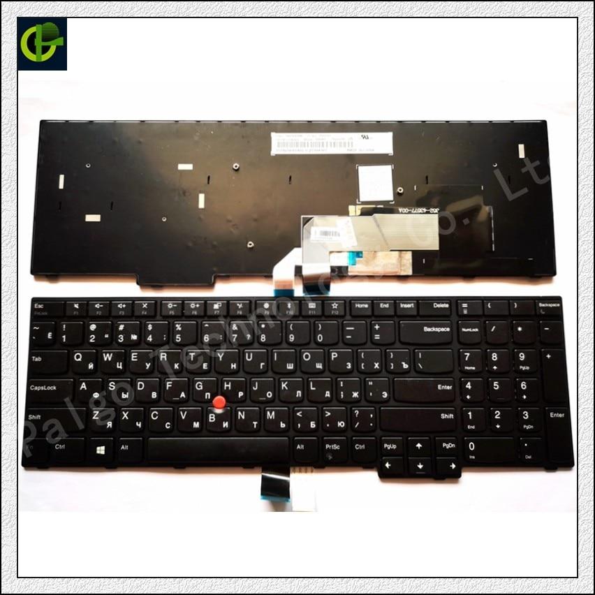 Russian Keyboard for ThinkPad E570 E575 FRU 01AX120 01AX160 01AX200 PN SN20K93288 PK1311P1A00 PK1311P2A00 PK1311P3A00 RU e570