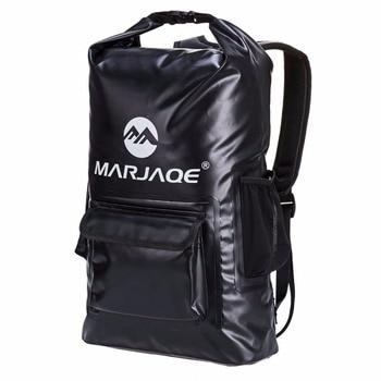 цена на 22L Outdoor PVC Impermeable Waterproof Dry Backpack Bag For Ocean Beach Hiking Swimming Pack Backpack Rucksack Backpacks