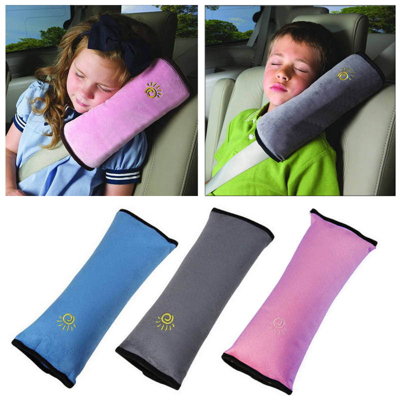 car safety belts toys Universal Bay Cover Pillow Baby Shoulder Safety Belts Children toys Strap Protection seats Cushion Support