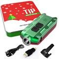 NITECORE наконечник праздничный подарочный набор металлический перезаряжаемый аккумулятор кнопочный ECD фонарик + многоцелевой зажим + USB кабел...