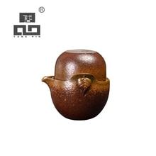 TANGPIN japanese ceramic teapot leaf gaiwan teacup handmade portable travel tea set