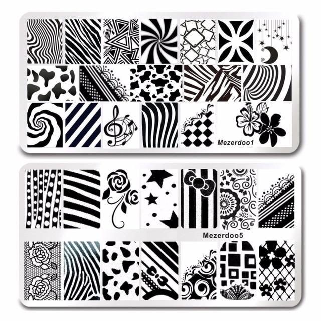 Polish Steel Sailors &Sea Sailing Theme 11Pcs Stamp Nail Art ...