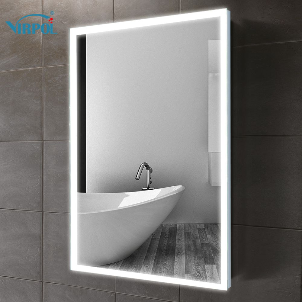 Rahmen led beleuchtet gerahmte bad spiegel badezimmerspiegel wand ...