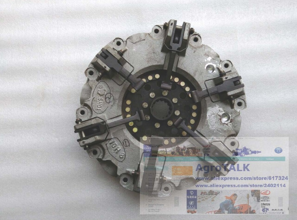 YITUO YTO 804 904 tractor parts, the 11 inch dual stage clutch with main clutch disc yituo yto x554 x904 tractor the front head lights left right is different part number sz550 40 030a 1 or sz550 48 031a 1