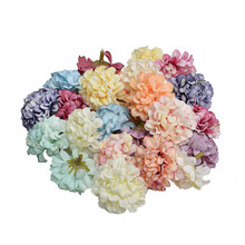 Artificial flower hydrangea head Wedding decoration eternal Diy handicrafts Home Decoration 10pcs/lot AQ220