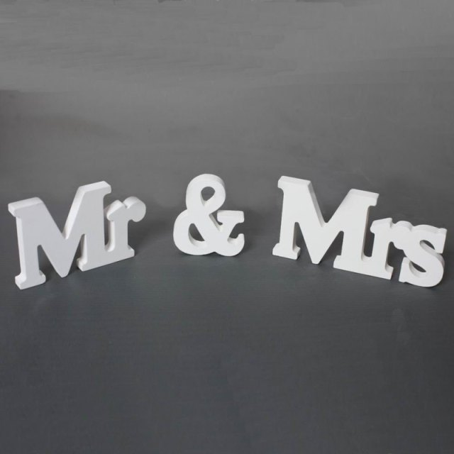 Letters Wedding Sign Party Signs Wedding Accessories 1ef722433d607dd9d2b8b7: China|United States