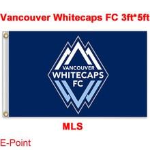 1 piece 144cm*96cm size MLS Vancouver Whitecaps FC Flying flag