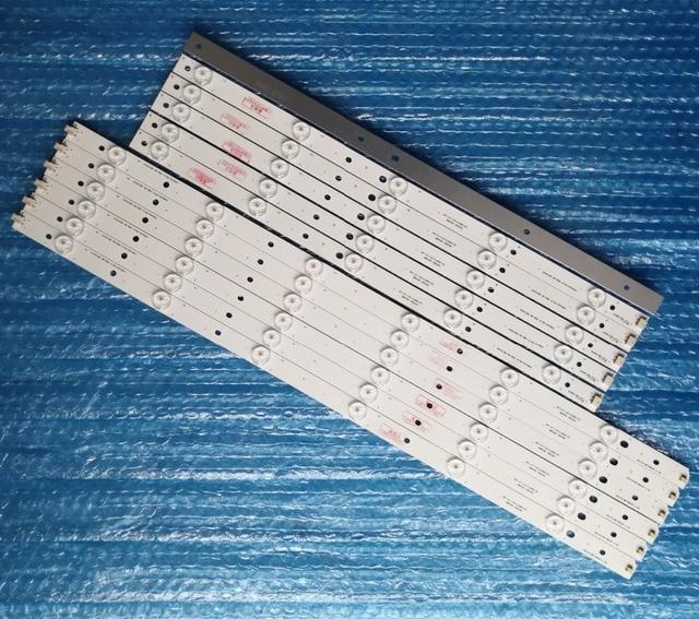 12 unids/set 11LEDs * 3 V tira de LED LB C500F13 E2 L G1 LD5 LB C500F13 E2 L G1 LD6 50C2000 50C2080 para ChangHong TV
