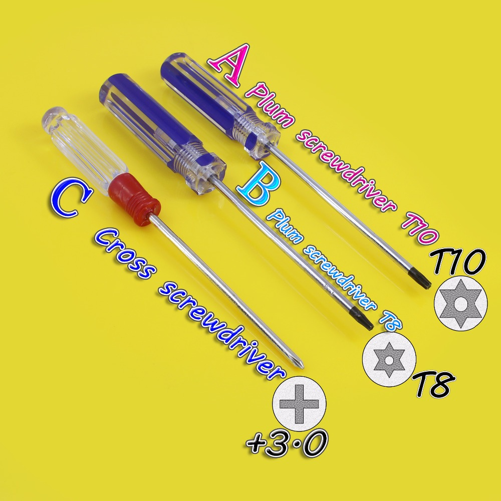 Maintenance Disassembly Tool Crystal Screwdriver