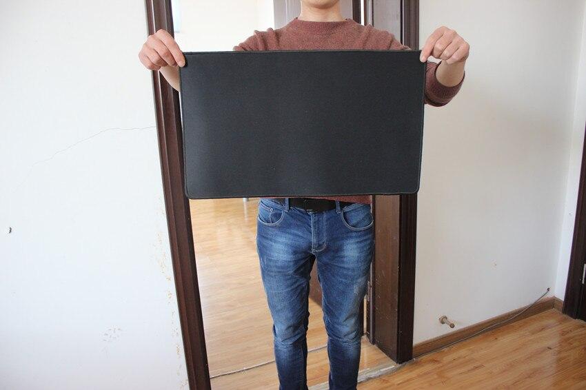 500x300 размер супер замок края черный коврик для мыши Нескользящие игровой коврик для мыши ноутбук Настольный коврик бюро мат для CS Go игры