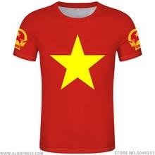 VIET NAM t hemd diy freies nach maß name anzahl vnm t shirt nation flagge vn vietnam vietnamesisch land text drucken foto kleidung