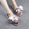 Hot Sale Fashion Shoes Woman Indoor Women Slippers Non-slip Warm Comfortable