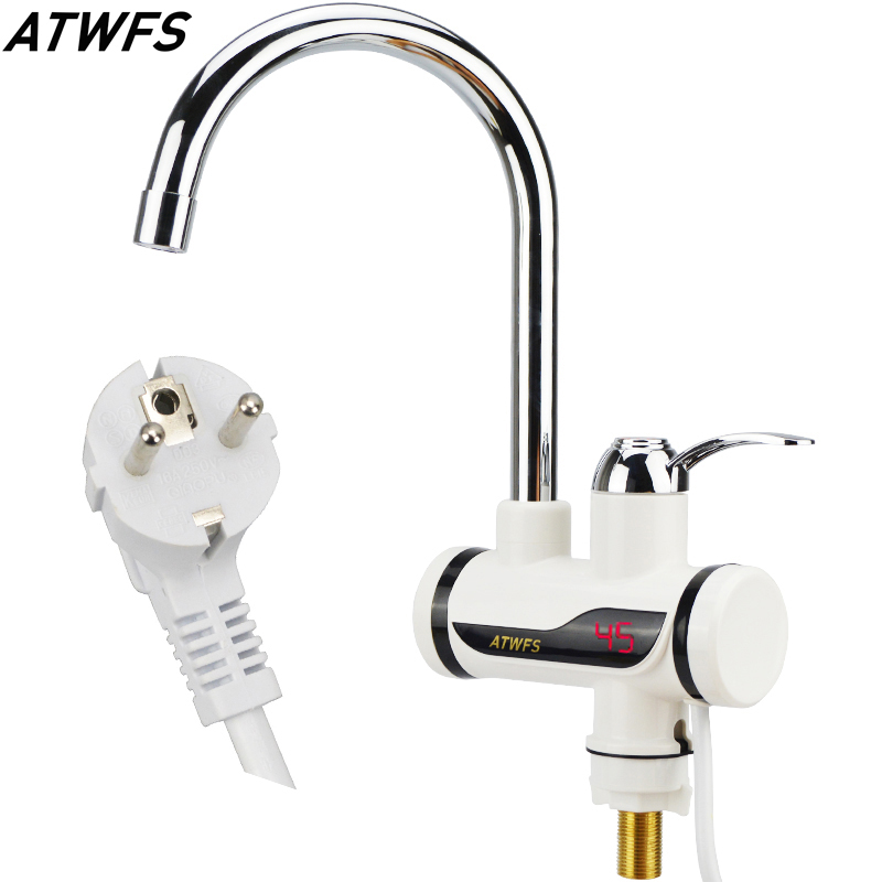 Instant tankless water heater tap instantaneous faucet kitchen water heater crane instant hot water faucet with