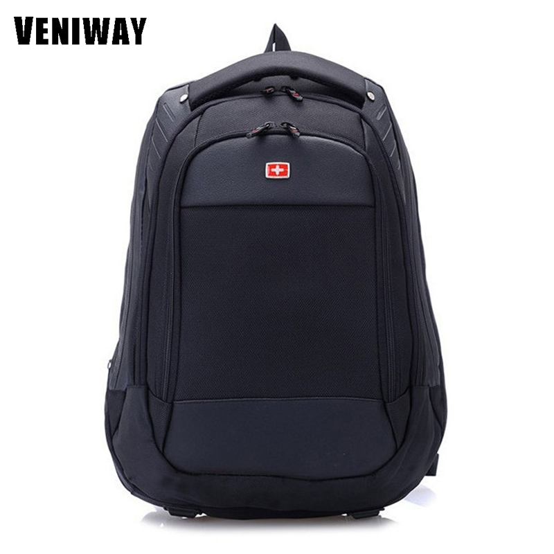 VENIWAY Large Capacity Swiss Men Gear Waterproof laptop Backpack Multifunctional backpacks Travel Bag Schoolbag Daily Mochila zuoxiangru travel pack bag men luggage backpack bag large capacity multifunctional waterproof laptop backpack men for shoes