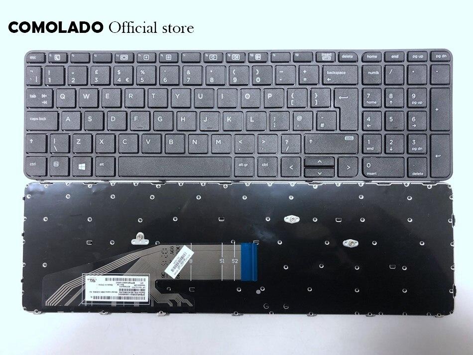 827028-001 US Keyboard for HP Probook 450 G3 455 G3 470 G3 450 G4 455 G4 470 G4