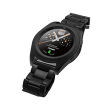 VF43S Stainless Steel Sport Bluetooth4.0 Man Running Smartwatch with Heart Rate Monitor for Android & iOS