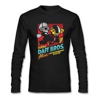 Super Daft Bros T-Shirt man aanpassen Groen rock T-Shirt met Menselijk na alle voor Mannen 2017 Beroemde Korte Tops