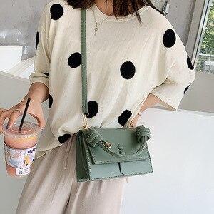 Image 4 - Fransa kadın 2019 moda omuzdan askili çanta çanta kadın küçük askılı çanta Flap marka tasarımcısı Crossbody çanta bayan çanta kesesi
