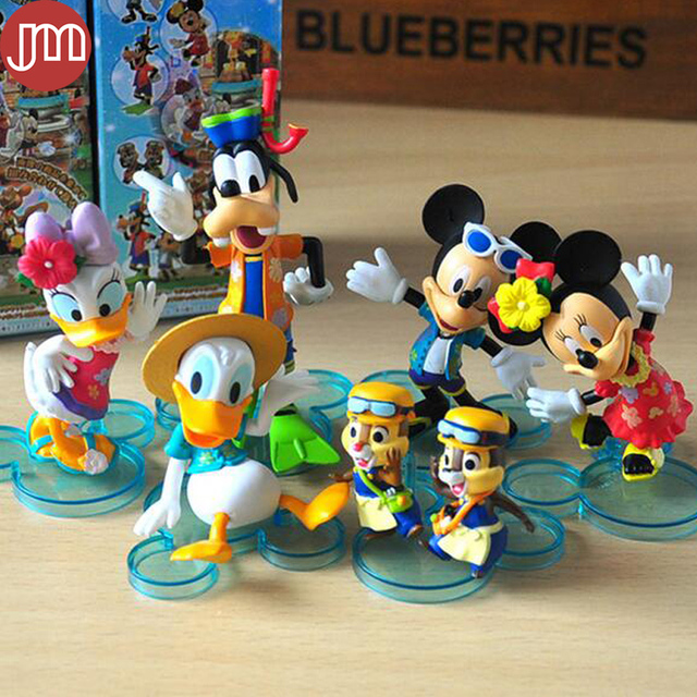 New 6pcs Mickey Mouse Minnie Donald Duck Goofy Daisy Clubhouse ...