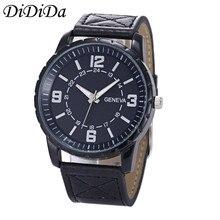 1PC Geneva Men Quartz Wristwatches Luxury Busines Wrist Watch Analog Analog Sport Free Shipping wholesale relogio masculino J20