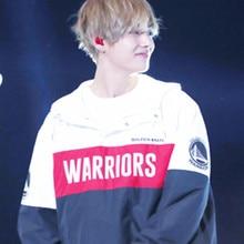 Kpop Bangtan V Concert же куртки люблю себя ветровка пальто kpop Jimin зимняя удобная одежда с длинными рукавами