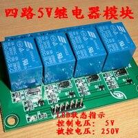 4 5v Relay Module Control Board 5v 220v Home Appliances Dupont Line