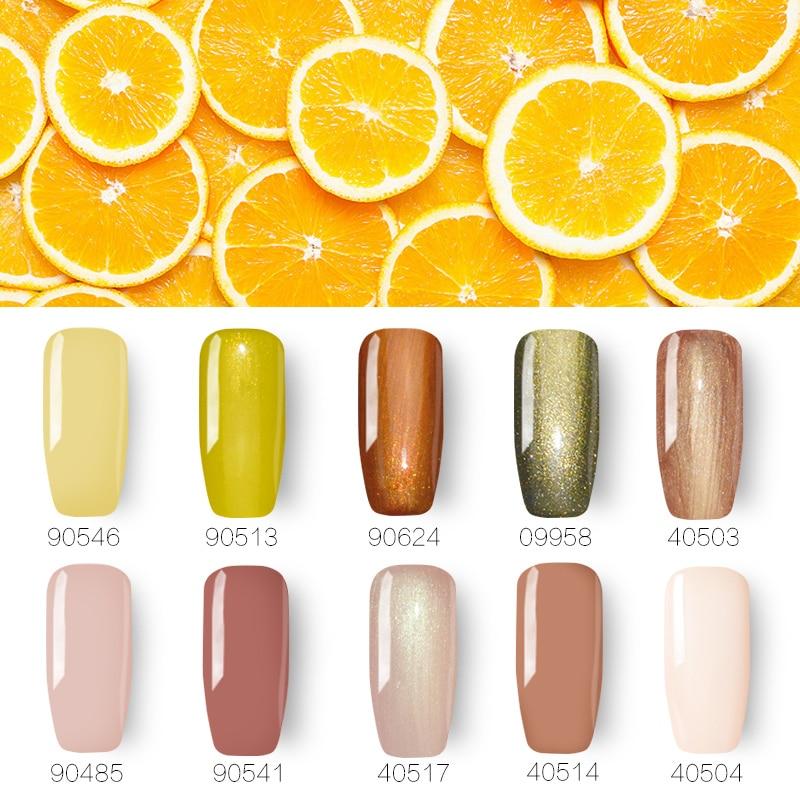 10 unids Gel de uñas Polaco Nail Art Set UV Gel Kit de manicura Gel - Arte de uñas - foto 1