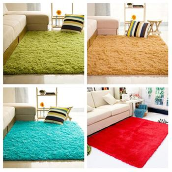 цена на 1pc Floor Carpet Mat Soft Anti-Skid  Rug Rectangle Area Rug For Home Living Room Bedroom Home Garden