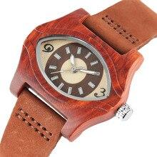 Türkische Bösen blick Armbänder Holz Uhren Frauen Weiblichen Echten Leder Ethnische Vintage Quarzuhr Frau Männer Bambus Armbanduhren