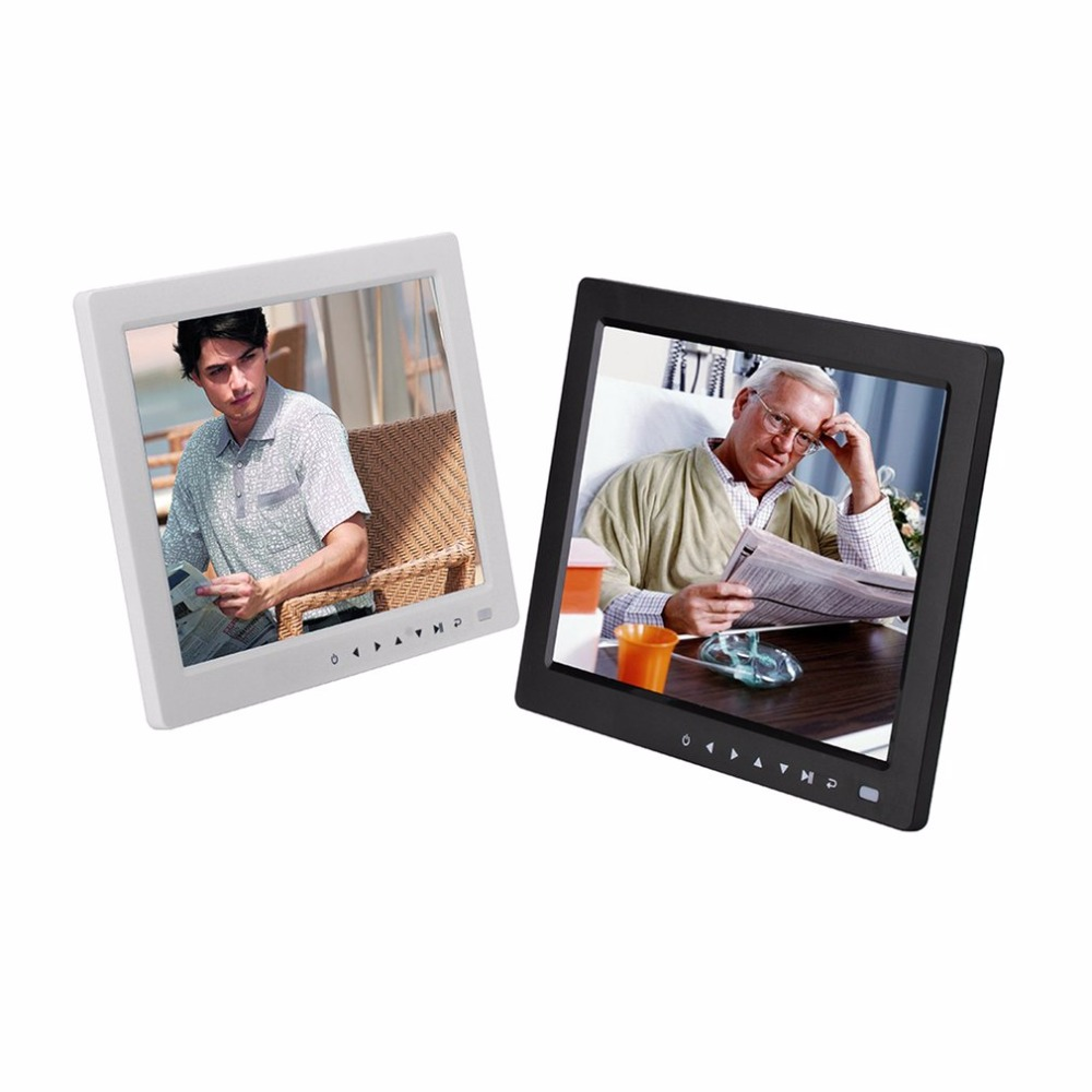10 inch HD TFT LCD Digital Photo Frame With Alarm Clock Music Video Player function With Desktop Stand Bracket professional 10 tft lcd digital photo movies frame mp4 player alarm clock remote