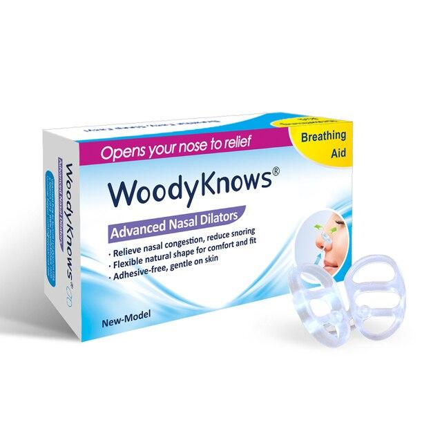 Woodyknows носовые расширители ( 2-го поколения ) нос вентиляционные отверстия заложенность носа против рельеф храп носовые полоски назальный спрей дышать